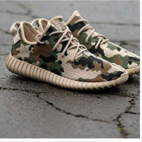 """Adidas"" Women Yeezy Boost Sneakers Running Sports Shoes SPYL-350 Camouflage"