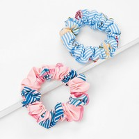 Tropical Scrunchie Set