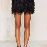 Birds of a Feather Mini Skirt