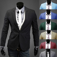 Casual Slim Men's Blazer