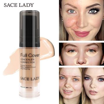 SACE LADY 8 Color Cream Face Corrector Waterproof Make Up Base Cosmetic