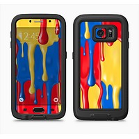 The Vector Paint Drips Full Body Samsung Galaxy S6 LifeProof Fre Case Skin Kit