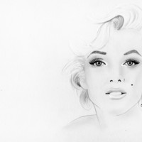 Marilyn Monroe Art Print by Paint The Moment