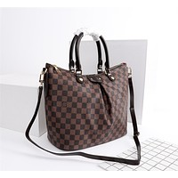 lv louis vuitton womens tote bag handbag shopping leather tote crossbody satchel 7