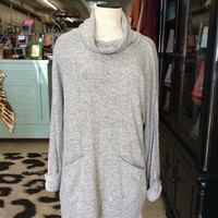 Stormy Weather Sweater Dress