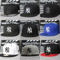 Fashion Online Fashion Young Men And Women Ny Adjustable Hat Baseball Caps