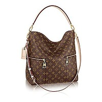 Louis Vuitton M¨¦lie Monogram Canvas Leather Shoulder Handbag Article:M41544