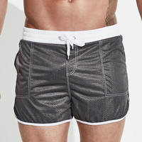 Seaside Pockets Mesh Breathable Sports Hot Spring Swim Trunks Beach Shorts for Men