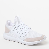 adidas Tubular Radial White Shoes at PacSun.com