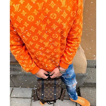 Louis Vuitton LV Best selling classic couple letter sweater