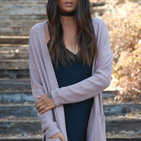 LA Hearts Slouchy Pocket Open Front Cardigan at PacSun.com
