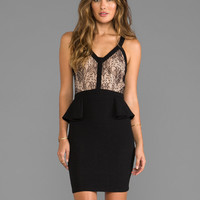 heartLoom Madelyn Lace Dress in Black