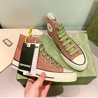 Gucci/CONVERSE small white shoes canvas shoes