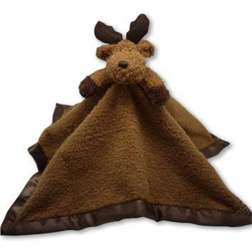 The Babymio Collection BaBa Lovey Tag-A-Long, Mellven the Moose