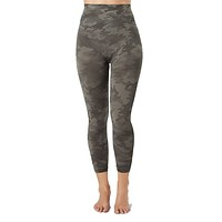 Seamless Cropped Leggings Sage Camo