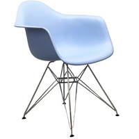 Wire Dining Arm Chair Blue