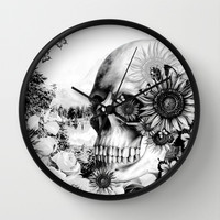 Reflection Wall Clock by Kristy Patterson Design