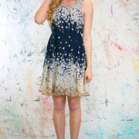 Midnight Meadow Party Dress