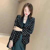 Top Gift LV Women Long Sleeve Knitted Cardigan Loose Sweater Outwear Jacket Coat Sweater
