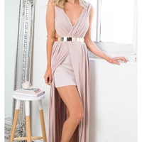 Talk The Talk dress in mocha