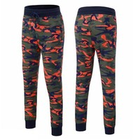Jogger Run Camouflage Fitness Pants Men Basketball Bodybuilding Gyms Pants Runners Clothing Jogging Sweatpants Men's Trousers