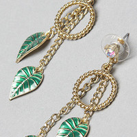 Betsey Johnson The Rio Charm Feather Earring : Karmaloop.com - Global Concrete Culture