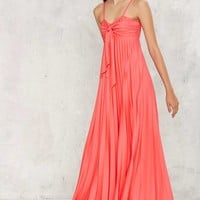 Vintage Treat Me Bright Maxi Dress