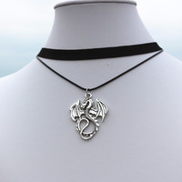 New 2016 Bijoux Tattoo Choker Collier Vintage Dragon Anime Necklace For Women Jewelry Accessories One Direction Exo Girl NK914