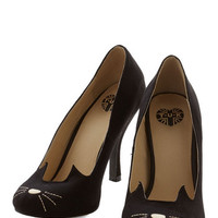 ModCloth Quirky You and Meow Forever Heel