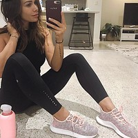 Adidas Originals Tubular Shadow Women's Leisure Pink Running Sports Shoes