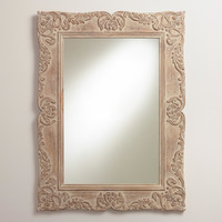 Ivory Juliette Mirror - World Market