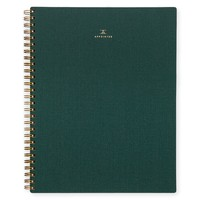 Hunter Green Notebook Lined
