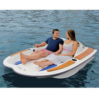 The Electric Motorboat - Hammacher Schlemmer