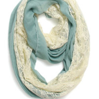With Love From CA Lace Inset Scarf at PacSun.com