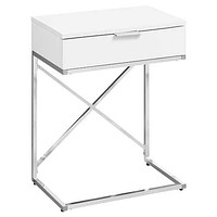 Classy Chrome Floating Accent Table