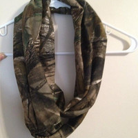 Camouflage Infinity Scarf
