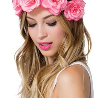 Bouquet In Bloom Large Flower Stretch Headband