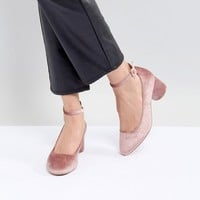 ASOS DESIGN Skyla Mid Block Heels at asos.com