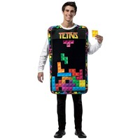Tetris Tunic with Movable Pieces Costume - Adult (Blue)