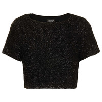 Fluffy Crop Tee - Tops - Clothing - Topshop USA