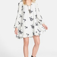 Free People 'Emma's' Embroidered Swing Dress   Nordstrom