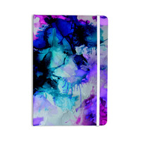 """Claire Day """"Lakia"""" Blue Purple Everything Notebook"""