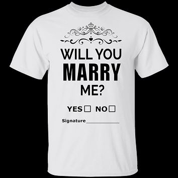 will you marry me?  T-Shirt & Hoodie