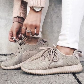 """""""Adidas"""" Women Yeezy Boost Running Sports Shoes Sneakers"""