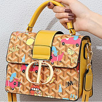 New all-match fashion one-shoulder popular wideband messenger handbag