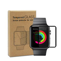 Smart Watch Accessories Full Cover Tempered Glass for Apple Watch 38mm 42mm Screen Protector 9H Protective Glass Film