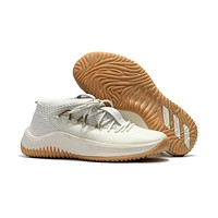 Adidas Lillard Dame 4 Ivory Basketball Shoes