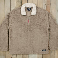 Southern Marsh Appalachian Pile Sherpa Pullover