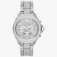 Wren Silver-Tone Watch | Michael Kors