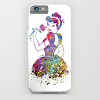 Princess Cinderella  iPhone & iPod Case by Bitter Moon